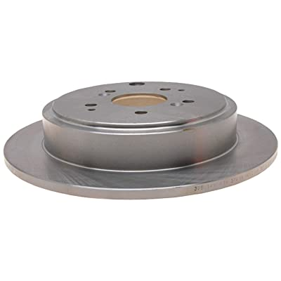 ACDelco 18A1312A Advantage Non-Coated Rear Disc Brake Rotor: Automotive