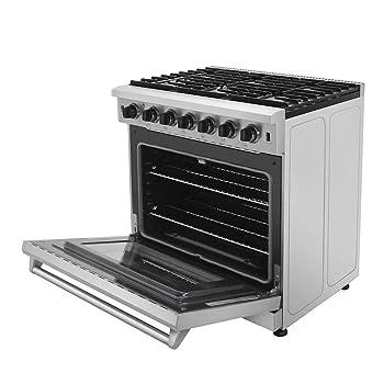Thor Kitchen Freestanding 36-Inch Gas Range