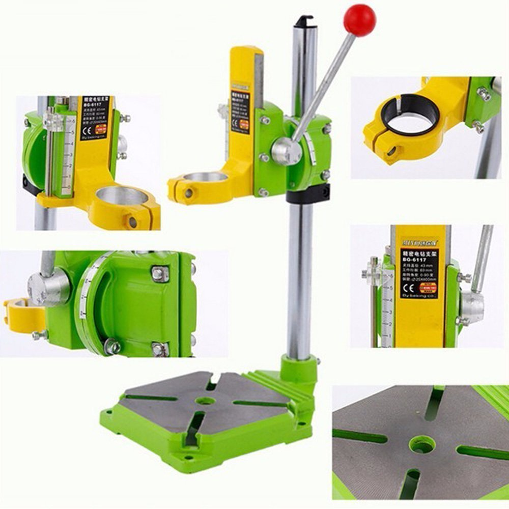 Xiangtat Bench Drill Stand/Press Mini Electric Drill Carrier Bracket 90° Rotating Fixed Frame by Xiangat (Image #5)