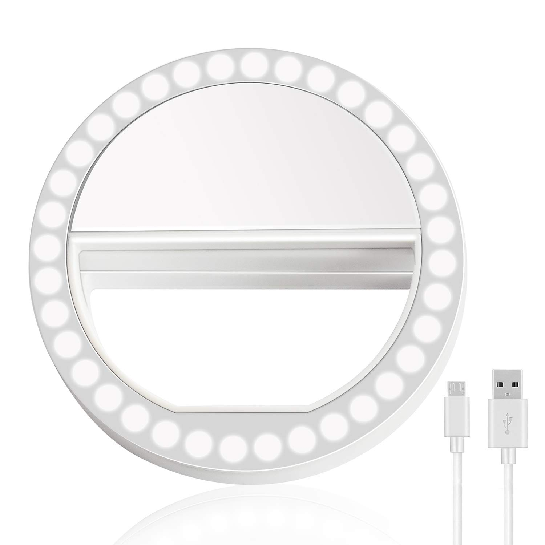 Anillo de luz led para selfie celular, tablet, 3 nivel (xsr)