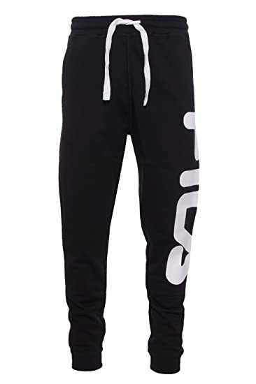 Fila Pantaloni Sportivi Uomo Nero S: Amazon.it