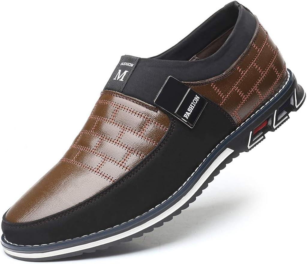 Veslexth Mens Yokest Business Loafers