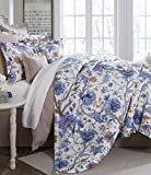 Noble Excellence Villa Belaire Full/Queen 3 Piece Comforter Set Floral Multi