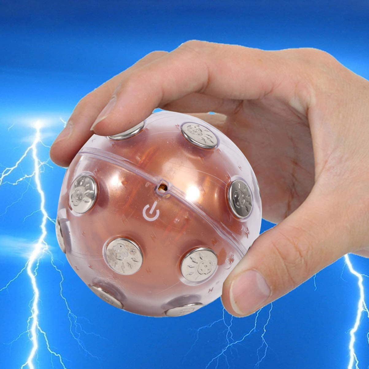 Wakauto Giocattolo Gioco Shock Ball 1Pc Shock Ball Durevole Divertente Riutilizzabile Leggero Forniture per Feste Palla Shock per La Famiglia di Amici Colleghi di Lavoro