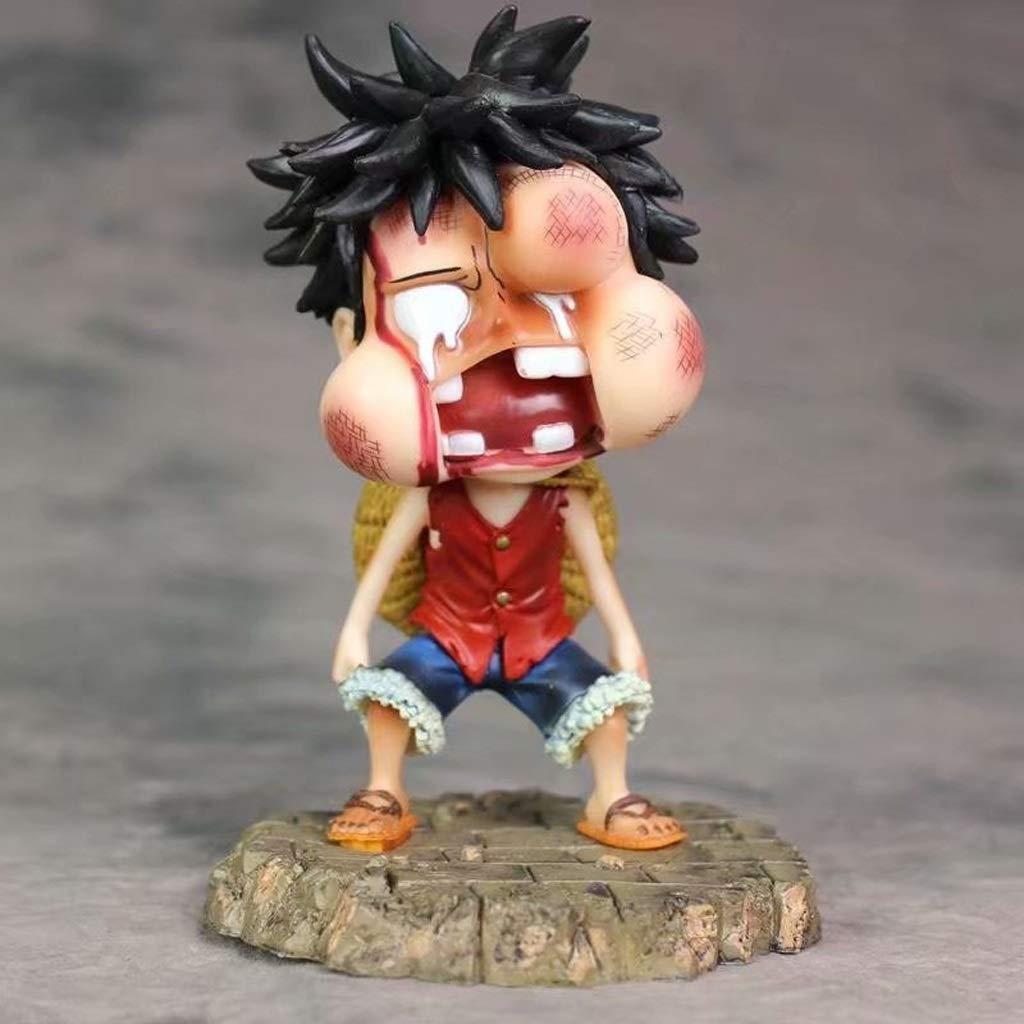 CCJW One Piece - Geschwollene Gesichtsfigur Modell Geschenke Kunsthandwerk Collectibles (5,9 Zoll) B07P8Y4P9Q Lokomotiven & Triebwagen Genial  | Haltbar