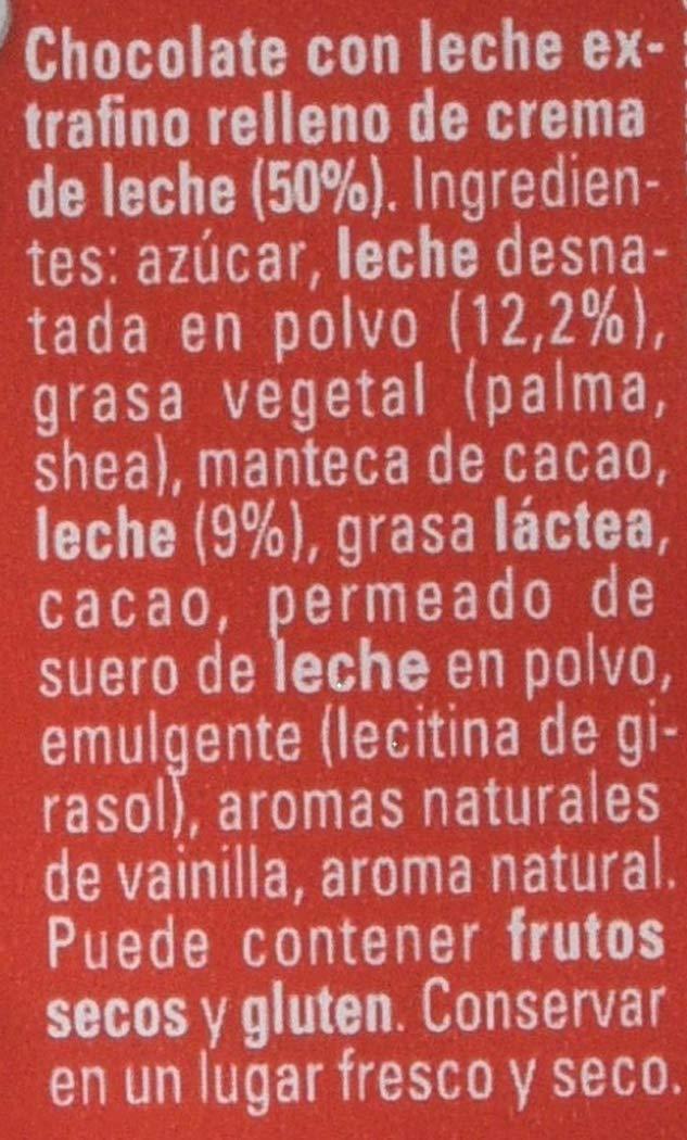 Nestlé Extrafino La Lechera Chocolate con Leche Condensada - Tableta ...