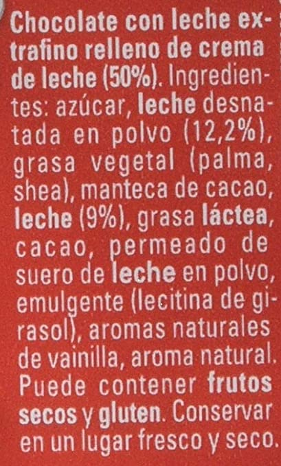 Nestlé Extrafino La Lechera Chocolate con Leche Condensada - Tableta de Chocolate 120 gr: Amazon.es: Amazon Pantry