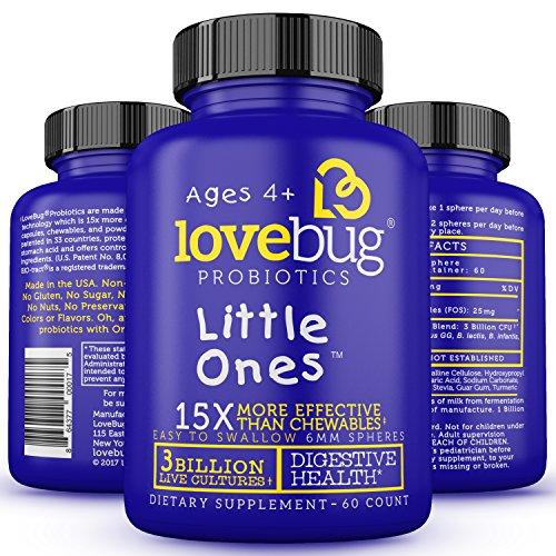 LoveBug Probiotics Multi Strain Supplement Easy product image