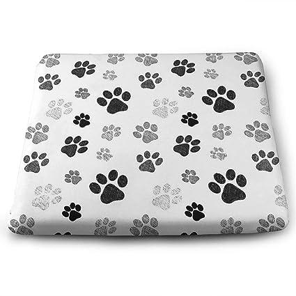 Amazon Com Icyapparel Dog Paw Print Custom Comfortable Memory Foam