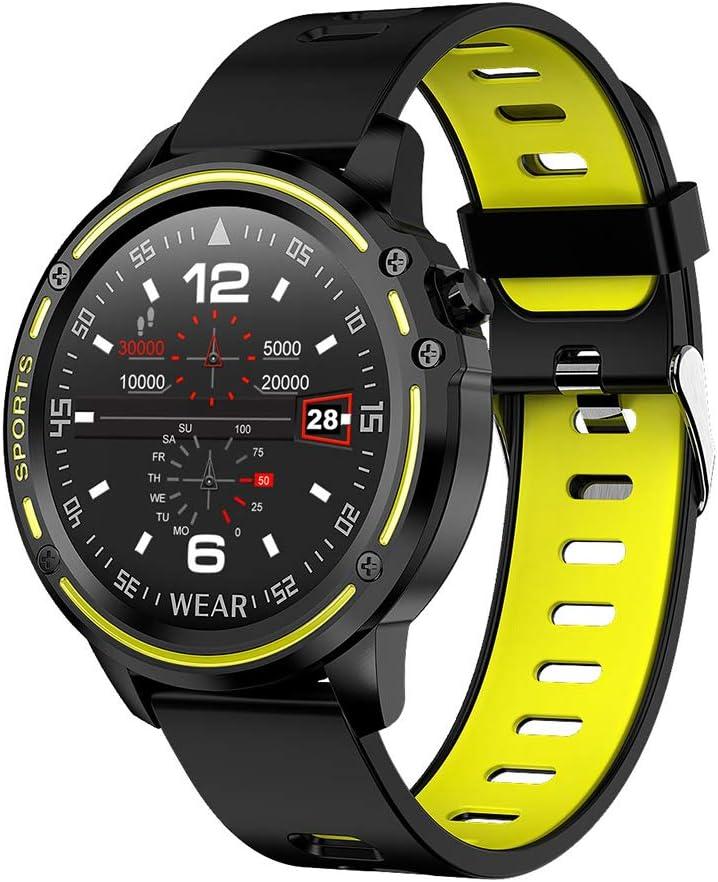 Reloj Inteligente con Monitor de Ritmo Cardíaco Smartwatch con Pantalla Táctil IP68 a Prueba de Agua con Monitor de Sueño y Notificación de Llamadas por SMS Reloj Deportivo para Android,Verde