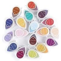 40-Pack Craft Ink Pad Postzegels DIY Multi kleuren Craft Stamp Pad voor kinderen Vinger-Print Tekening, Papier, Hout…