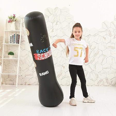Saco de Boxeo para Adultos niños, Punching Ball Hinchable ...