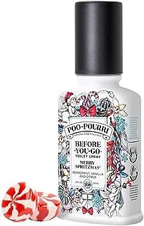 product image for Poo-Pourri Merry Spritzmas Vanilla Peppermint Scent 4 oz Before-You-Go Bathroom Spray