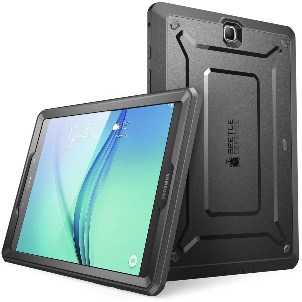 Galaxy Tab A 8.0 Case 2015, [NOT Fit 2017 Tab A 8.0 SM-T380/T385] SUPCASE [UB PRO Series] Full-body Hybrid Protective Case with Screen Protector for Samsung Galaxy Tab A 8.0 SM-T350 (2015) (Black)