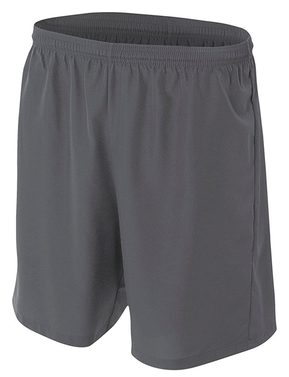 Graphite A4 Big Boys Lightweight Woven Soccer Shorts Medium