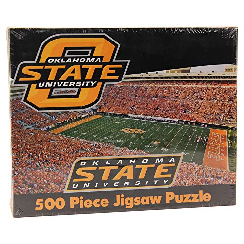 R and R Imports NCAA Oklahoma State Cowboys 500 Piece Stadium Jigsaw Puzzle (Oklahoma State Cowboys)