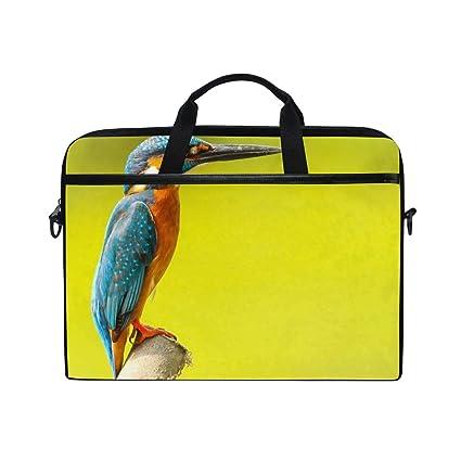 5130d170eca Amazon.com  Laptop Computer Bag Nature Kingfisher Notebook Shoulder ...