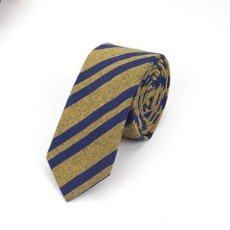 QEHWS Corbata Corbatas De Algodón para Hombres Corbata De ...