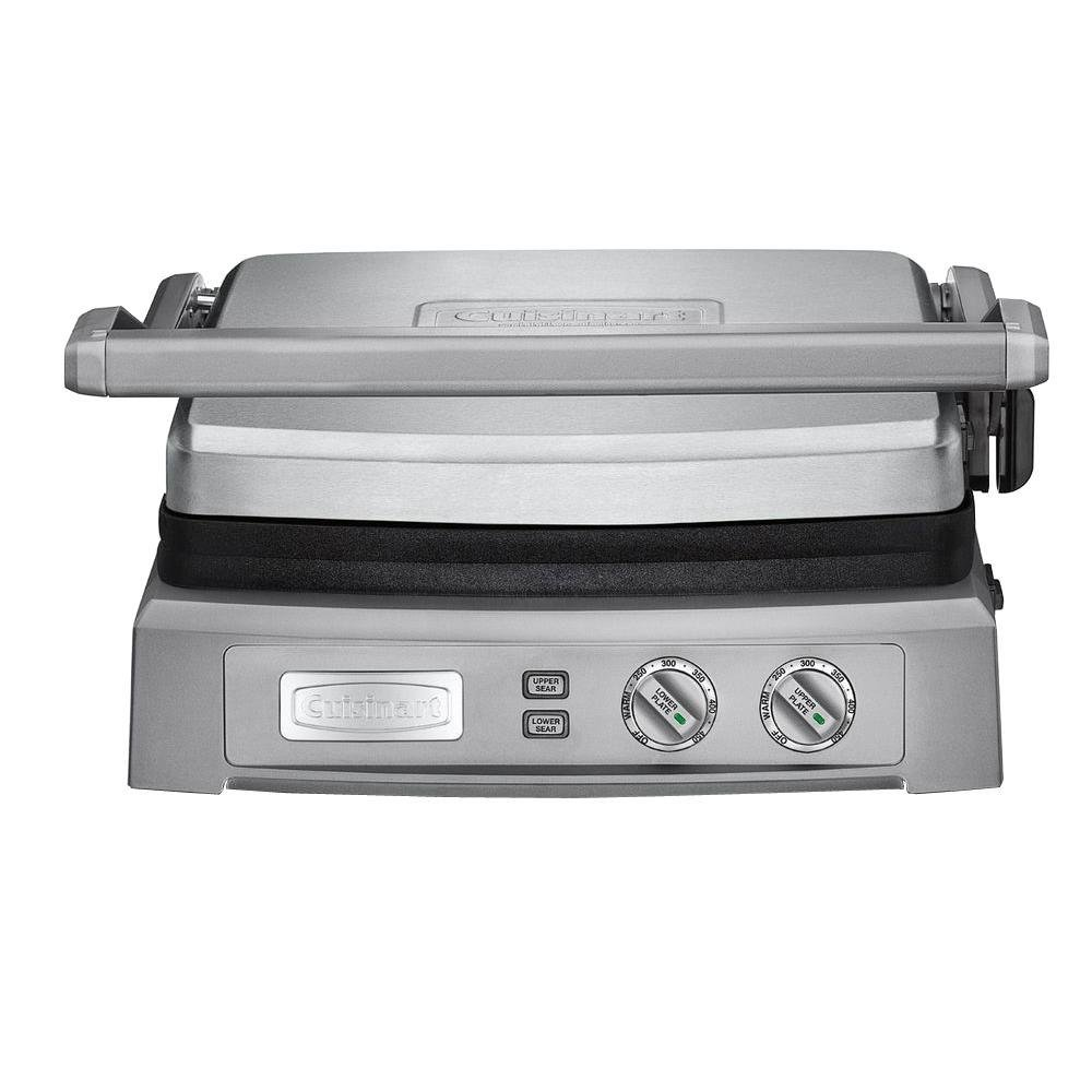 Cuisinart Griddler 240 Sq. In. Large Brushed Ss