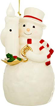 Lenox The Lights Sensor Snowman Hanging Ornament
