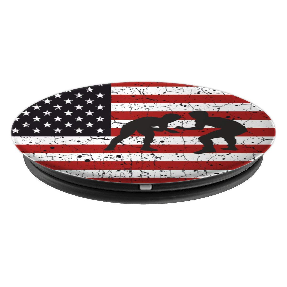 Amazon.com: American Flag Wrestling Pop Socket - PopSockets Grip and Stand for Phones and Tablets: Cell Phones & Accessories