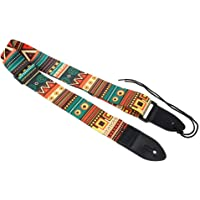 SHAFIRE Adjustable Guitar Strap with PU Leather Ends