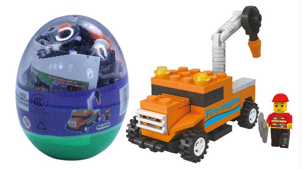Easter Eggs With Toys Inside Kids Gift Lego Cars Trucks ...