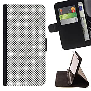 Momo Phone Case / Flip Funda de Cuero Case Cover - Arte pop moderno Raster puntos griega - Sony Xperia Z2 D6502