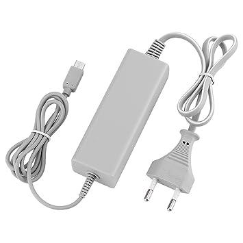 QUMOX Fuente de alimentación Adaptador de CA para Nintendo Wii U Gamepad