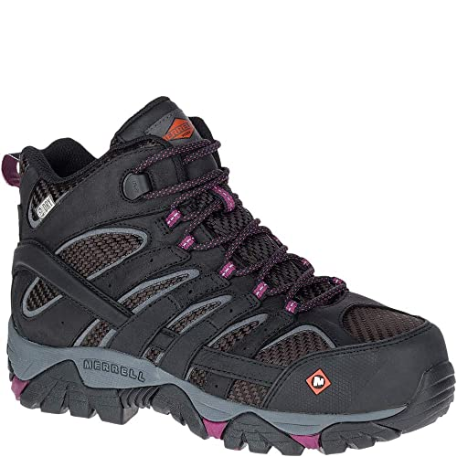 d791775c Merrell Women'S Moab 2 Vent Mid Waterproof Composite-Toe Work Boot
