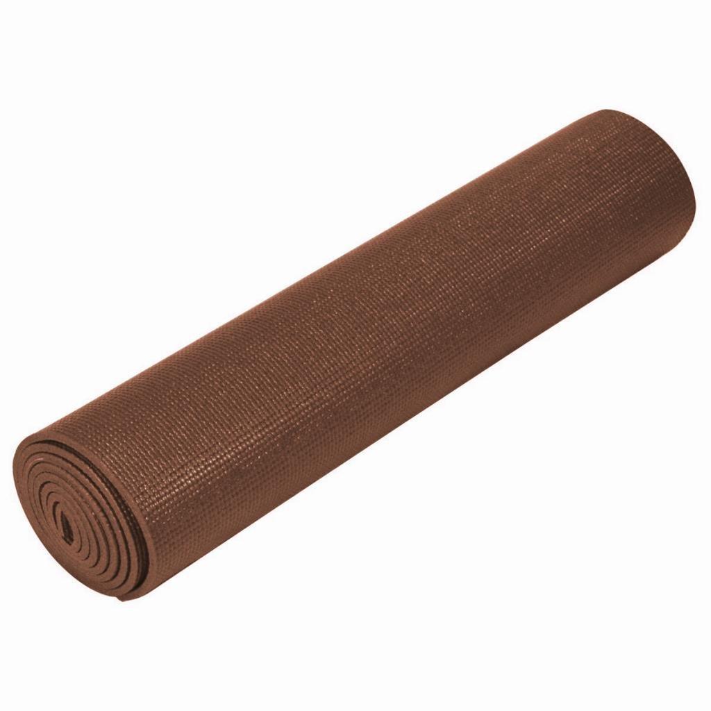 EverythingYoga Ultra Thick Yoga Mat - Chocolate