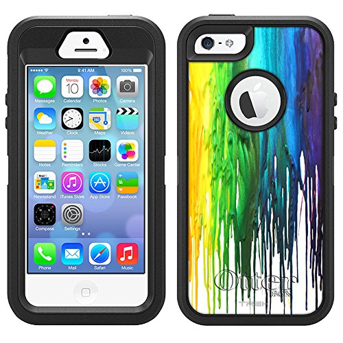 Defender Case for Apple iPhone 5S - Melting Wax - Buy Online