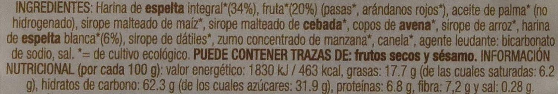 Biospirit Galletas de Espelta y Frutas de Cultivo Ecológico, 200 g: Amazon.es: Alimentación y bebidas