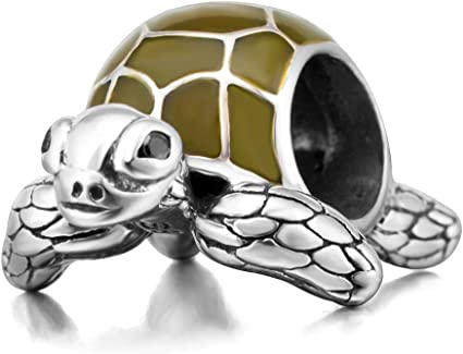 925 Sterling Silver Small Turtle Charm