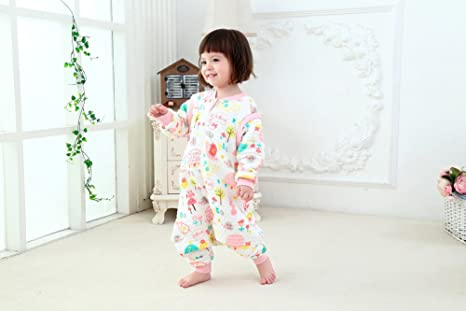 Amazon.com : G Abigale Fairy 100% Organic Cotton Lovely Monkey Baby Sleeping Rack Bag (L, Pink) : Baby