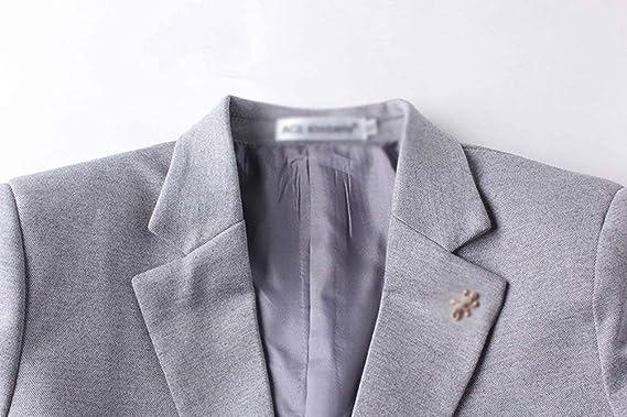 Chaqueta De Vestir Slim Clásica Blazer Hombre para Simple Estilo Chaqueta  De Viaje De Ocio Chaqueta Corta De Negocios Chaqueta De Invierno Cálido  Parka ... 16f7dff799419