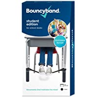 The Original Bouncy Bands® for Desks (Black) - Children Love Bouncing Their feet and Feeling The Tension to Relieve…