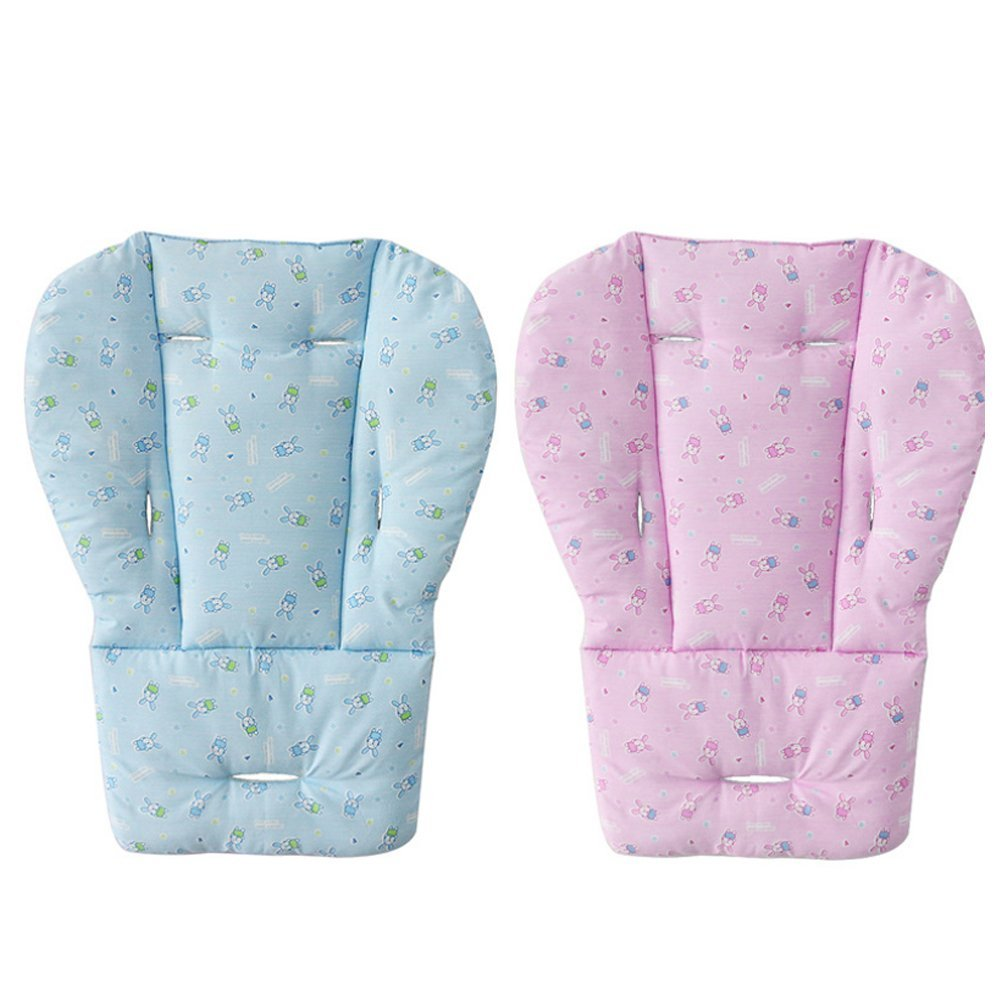 Baby-Sitzkissen wasserdicht Pink atmungsaktiv Matte Einlage Bezug f/ür Kinderwagen Hochstuhl Auto 1 St/ück