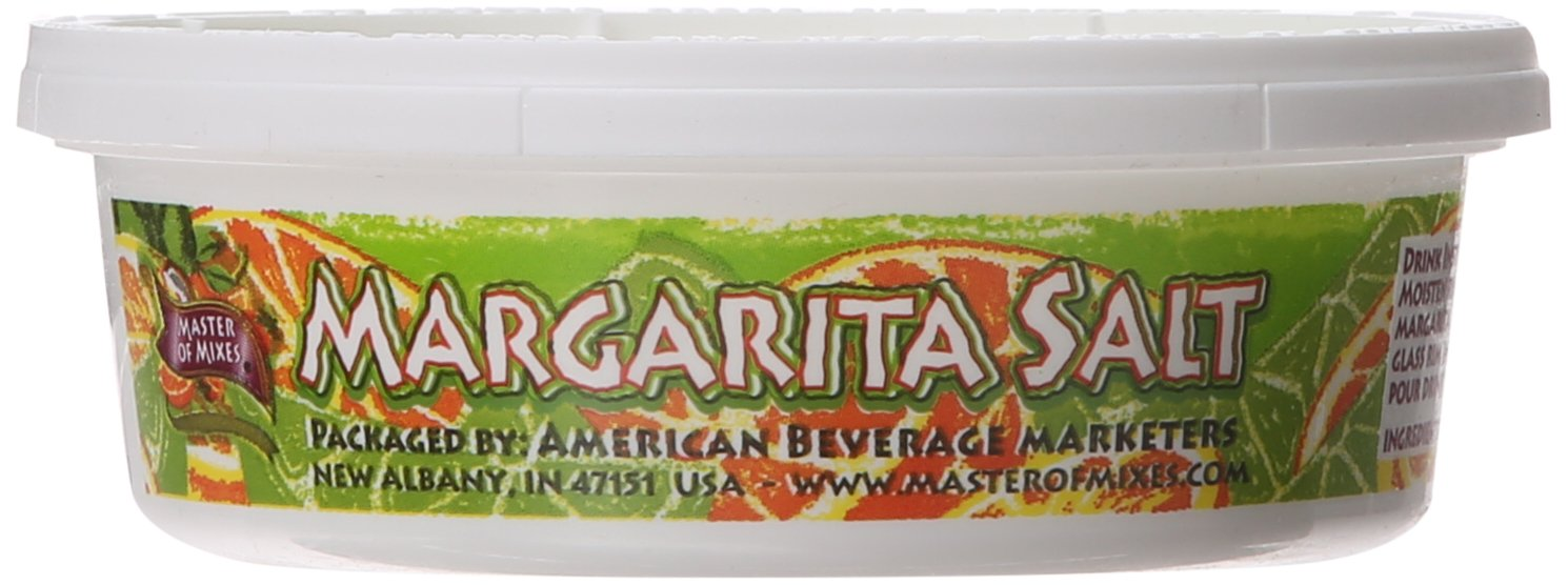 Master of Mixes Margarita Salt,  8-Ounce (Pack of 12) by Master of Mixes