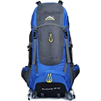 Lixada 65L + 5L Backpack Hiking Backpacking Packs Outdoor Trekking Travel Daypack for Camping Climbing Mountaineering Hiking