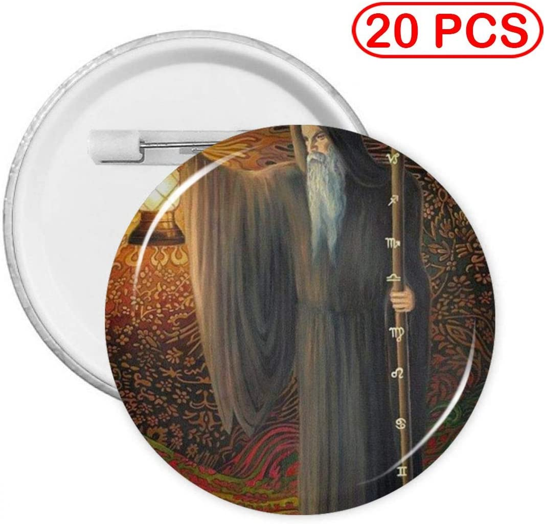 YXXZ Tarot Oh Cards Summer Patio Round Badge Brooches and Pins Accessories Multiple Packs