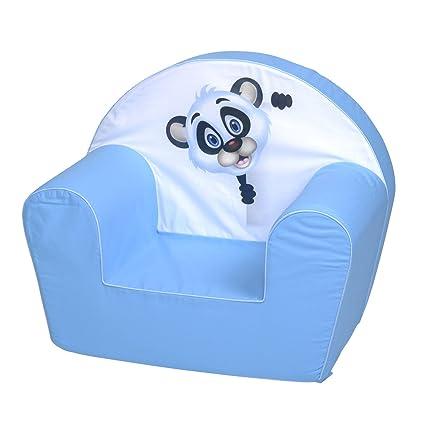 Knorrtoys Panda - sillones (Silla, Azul, Color Blanco ...