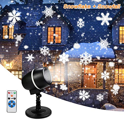 Outdoor Snowflake Light Projector in US - 3