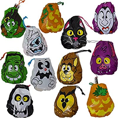 Spooktacular Creations Pack of 72 Halloween Drawstring Goody Bags Bags for Halloween Treats, Halloween Party Favors, Halloween Party Supplies from Spooktacular Creations