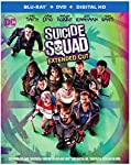 Cover Image for 'Suicide Squad - Extended Cut [Blu-ray + DVD + Digital HD]'