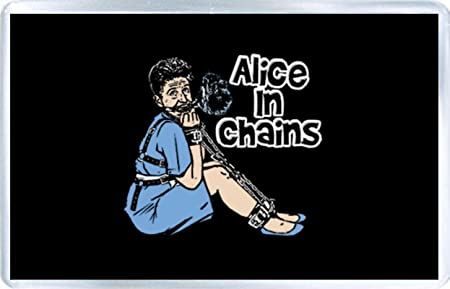 Alice in Chains - Imán para nevera A: Amazon.es: Hogar