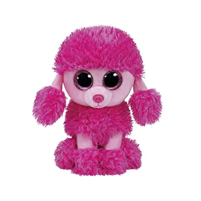 "Ty Beanie Boos Patsy Pink Poodle Dog 6"": Toys & Games"