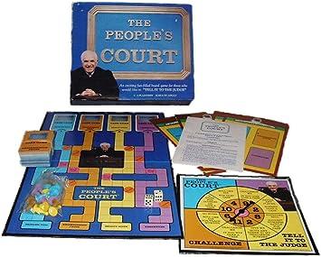 Hoyle The People Court Juego de Mesa Vintage 1986: Amazon.es: Juguetes y juegos