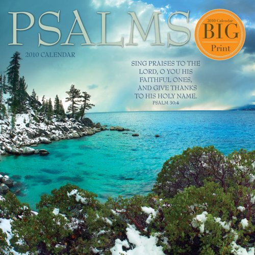 Psalms - 2010 Big Print Wall Calendar