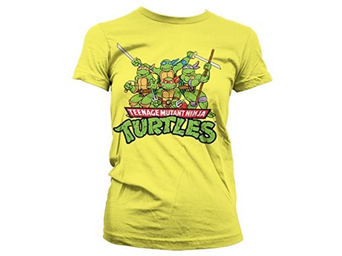Teenage Mutant Ninja Turtles Shirt Distressed Group de Las ...